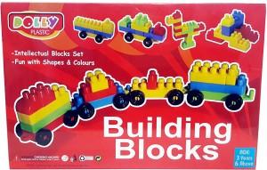 Bonkerz Skill Development Kids Dolly Plastic Building Blocks For Kids