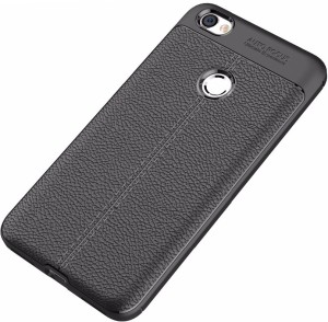 wholesale dealer da8ee 9b89a Vibhar Back Cover for Redmi Y1, Redmi Y1 LiteBlack, Grip Case, Silicon