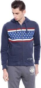 U.S. Polo Assn. Full Sleeve Striped Men Sweatshirt