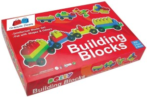 GRAPPLE DEALS Plastic Building Blocks Set - Intellectual Blocks Set For Kids.