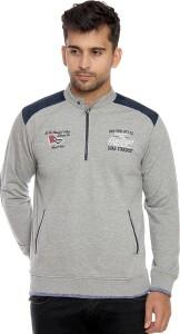 Duke Full Sleeve Solid Men Sweatshirt