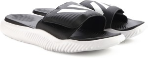 63fa0a8b12a1d1 Adidas ALPHABOUNCE SLIDE Slippers Best Price in India