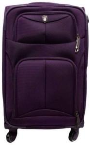Swiss Era SwissEra Strolley Bag (PURPLE) ab-1 Luggage Expandable  Check-in Luggage - 24 inch