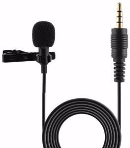 True Deal Tie Clip Collar Mic Lapel For Nikon Dslr Cameras and smartphones - 3.5mm Microphone