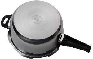 961353417 Butterfly Blue Line 5 L Pressure Cooker with Induction BottomStainless Steel