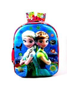ehuntz Disney princess frozen 5D embossed school Bag (Pre Nursery & Nursery) Waterproof School Bag