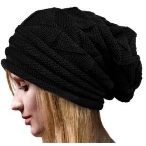 8f46d87de22 Atabz Unisex Woolen Winter slouchy beanie Cap