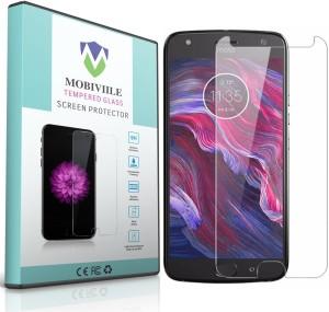 MOBIVIILE Tempered Glass Guard for Motorola Moto X4