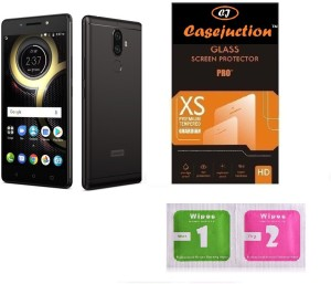 CASEJUNCTION Tempered Glass Guard for Lenovo k8 Plus
