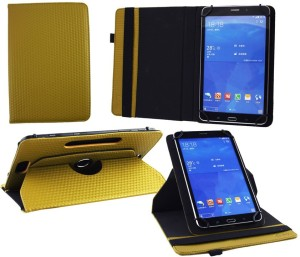 Emartbuy Wallet Case Cover for Samsung Galaxy Tab E SM-T561