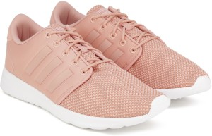 cfa8955ee8f35 Adidas Neo CF QT RACER W Running Shoes Pink Best Price in India ...