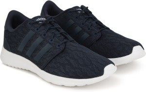 d5308831 Adidas Neo CF QT RACER W Running Shoes White Navy Best Price in ...