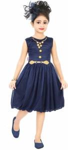 Style Junction Girls Midi/Knee Length Party Dress