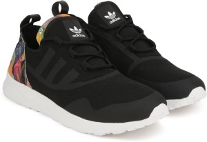 b4d135ac1 Adidas Originals ZX FLUX ADV VIRTUE W Sneakers For Women Black Best ...