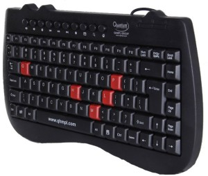 Quantum QHMPL7309 Wired USB Multi-device Keyboard