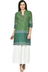7a888d01a67 Rangmanch by Pantaloons Casual Solid Women s Kurti ( Green )