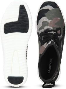 ac41467b1e Slazenger Velociti Camo Sneakers Green Black Best Price in India ...