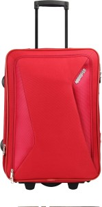 American Tourister AMT COLUMBIA UR 55CM RED Expandable  Cabin Luggage - 20 Inches