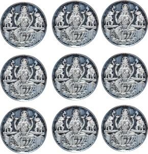 Kataria Jewellers Laxmi Mata S 999 3 g Silver Coin