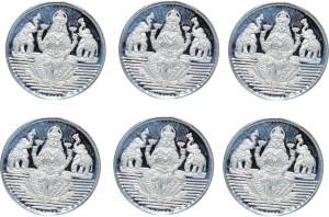 Kataria Jewellers Laxmi Mata S 999 1 g Silver Coin