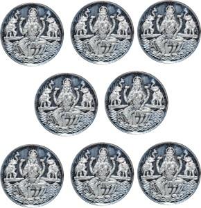 Kataria Jewellers Laxmi Mata S 999 2 g Silver Coin