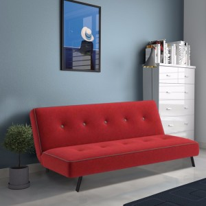Furny Zenlo Double Solid Wood Sofa Bed