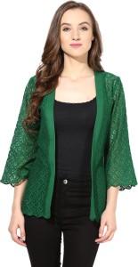 The Vanca Half Sleeve Solid Women's Jacket