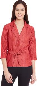 Cherymoya Half Sleeve Printed Women's Jacket