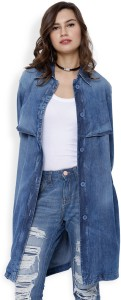 18bb25c1442 Tokyo Talkies Full Sleeve Solid Women s Jacket Best Price in India ...