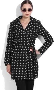 Van Heusen Full Sleeve Polka Print Women's Wool Jacket Jacket