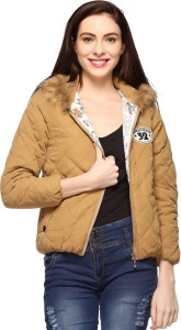 Fasnoya Full Sleeve Solid Women's Jacket