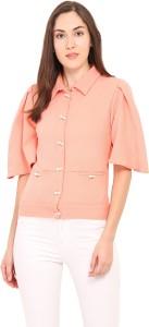 Instacrush Half Sleeve Solid Women's Jacket