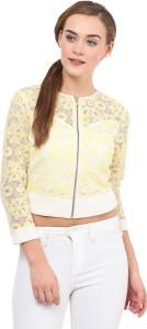 Honey & B Half Sleeve Solid Women's Jacket