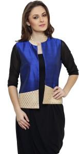 Ritzzy Sleeveless Solid Women's Jacket