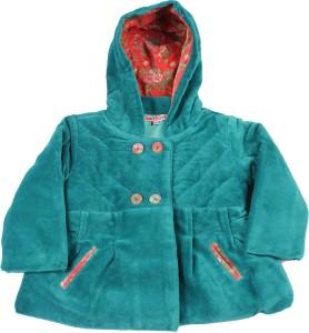 3c26e22df7bb NautiNati Full Sleeve Self Design Baby Girls Jacket Best Price in ...