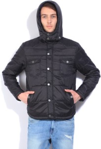 b208495d49f9 Levi s Full Sleeve Self Design Men s Quilted Jacket Best Price in India
