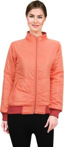 Lady Stark Full Sleeve Solid Women's Quilted Jacket