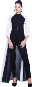 D&S 3/4th Sleeve Solid Women's Jacket