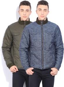 b9686254953b4 Pepe Jeans Full Sleeve Self Design Men s Jacket Best Price in India ...