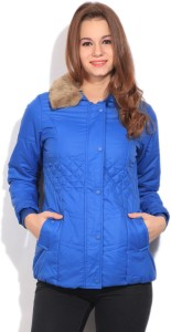 People Full Sleeve Solid Women's Quilted Jacket