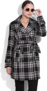 Van Heusen Full Sleeve Checkered Women's Jacket