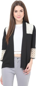 Honey & B Half Sleeve Solid Women's Jacket