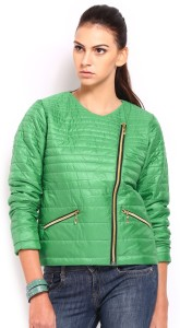 Roadster Full Sleeve Solid Women's Quilted Jacket