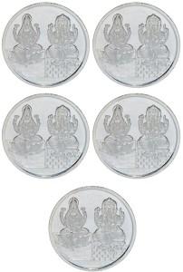 Kataria Jewellers Lakshmi Ganesh S 999 20 g Silver Coin