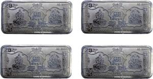 Kataria Jewellers Lakshmi Ganesh S 999 20 g Silver Bar
