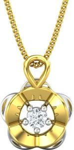 JewelHub JPT1824 18kt Diamond Yellow Gold Pendant