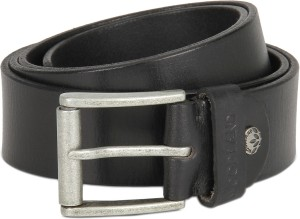 Woodland Men Casual Black Genuine Leather Belt Best Price In India