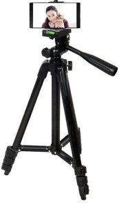 Spring jump 105 CM light weight Tripod camera stand for Digital camera and Mobile Tripod Kit