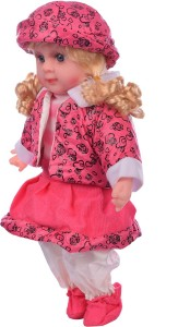Aarushi Soft Plush Girl Baby Doll Toy Pink Multicolor Best Price in ... b55d691328