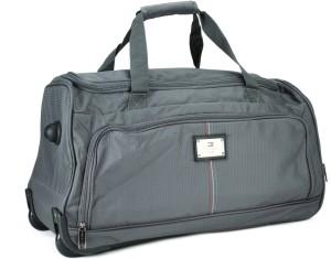 Tommy Hilfiger DALLAS 24 inch 60 cm Travel Duffel Bag Grey Best ... 3a9261b6250